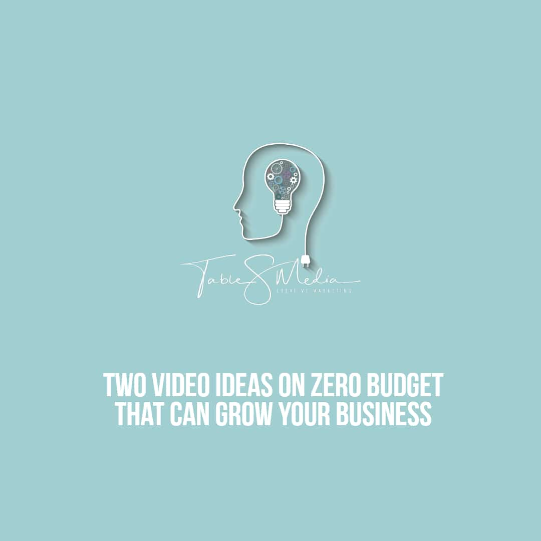 Two video ideas on zero budget that can grow your business